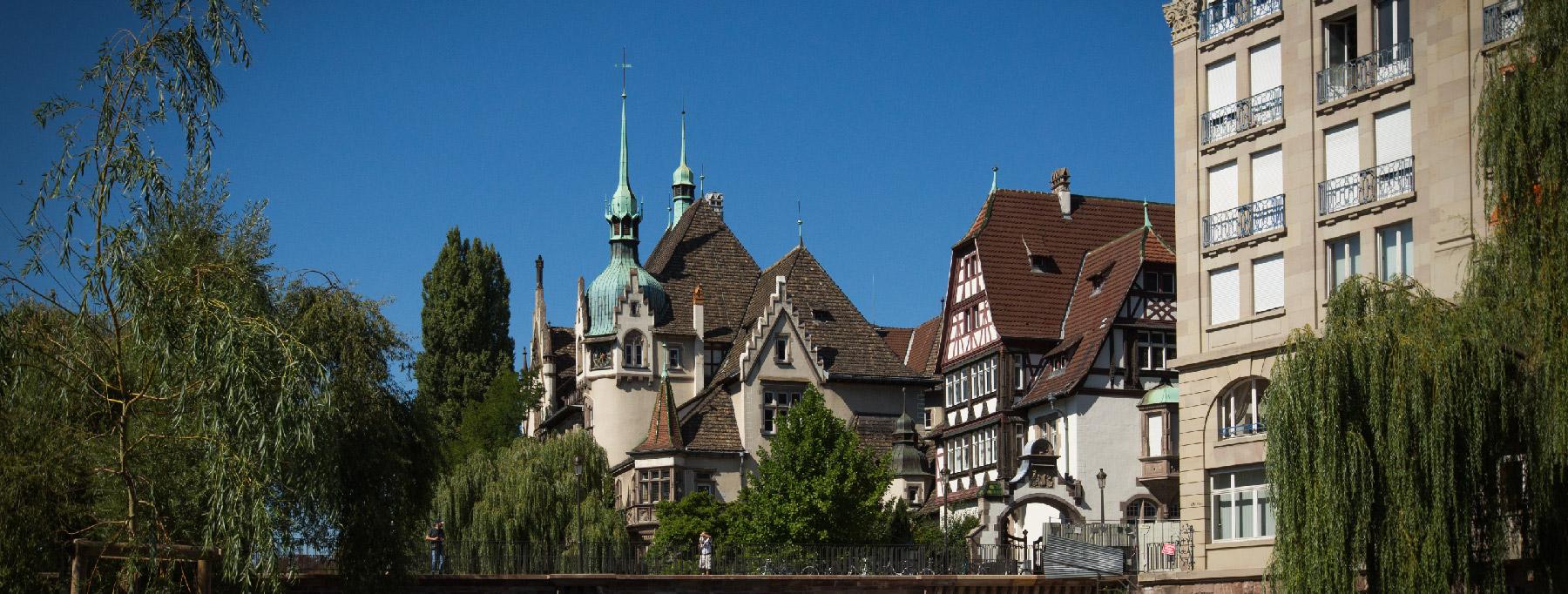Vue Neustadt Strasbourg